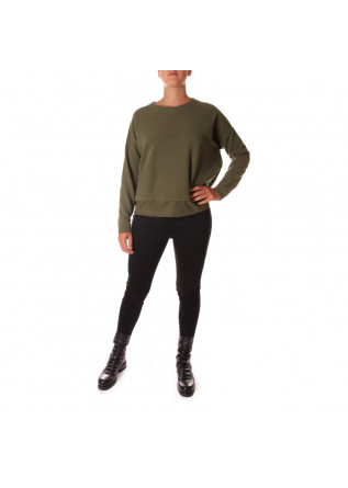 WOMEN'S CLOTHING KNITWEAR SWEATSHIRT UNDERGROWTH GREEN BIONEUMA