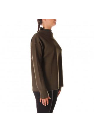 WOMEN'S CLOTHING SWEATSHIRTS GREEN BIONEUMA