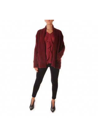 WOMEN'S CLOTHING KNITWEAR JACKET BORDEAUX VIRNA DRO'