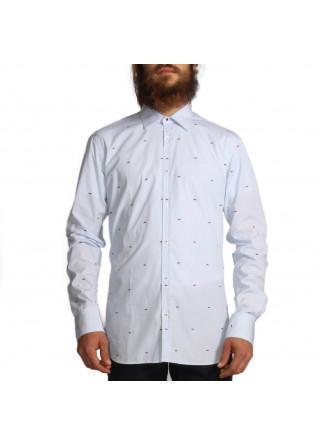 Hemd Herrenbekleidung Aglini Hellblau