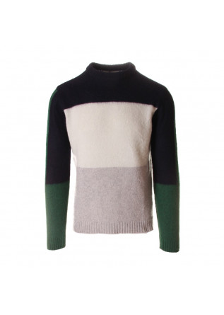 MEN'S CLOTHING KNITWEAR BLUE WOOL & CO