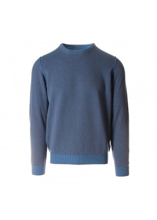 MEN'S CLOTHING KNITWEAR LIGHT BLUE JURTA