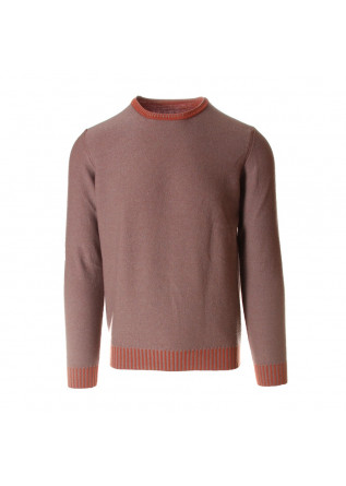 MEN'S CLOTHING KNITWEAR SWEATER ORANGE HAZELNUT JURTA