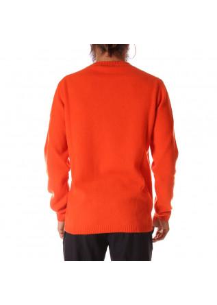 MEN'S CLOTHING KNITWEAR ORANGE DANIELE FIESOLI