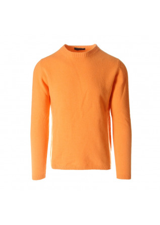 MEN'S CLOTHING KNITWEAR ORANGE DANIELE FIESOLI