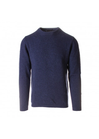 MEN'S CLOTHING KNITWEAR BLUE DANIELE FIESOLI