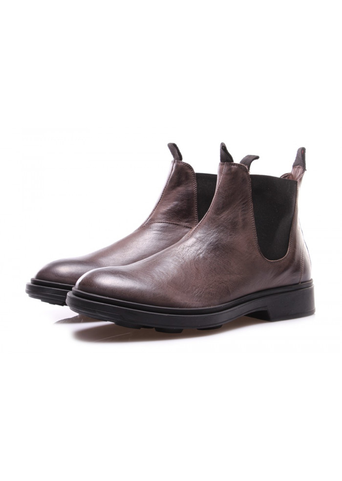 4cec4f04019 MEN'S SHOES CHELSEA BOOTS TAUPE GREY MANOVIA 52