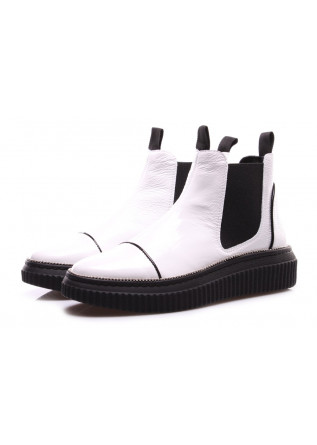 WOMEN'S SHOES BOOTS WHITE D+
