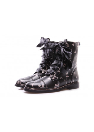 WOMEN'S SHOES BOOTS BLACK D+