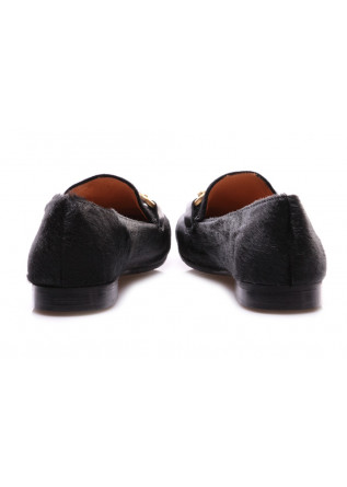 WOMEN'S SHOES FLAT SHOES PONY BLACK MARA BINI