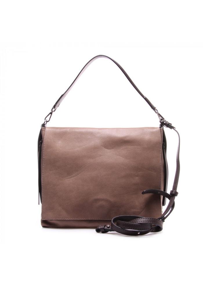 WOMEN'S BAGS SHOULDER BAG MUD BROWN GIANNI CHIARINI