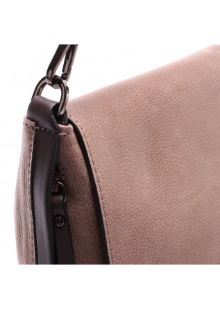 WOMEN'S BAGS SHOULDER BAG MUD BROWN GIANNI CHIARINI