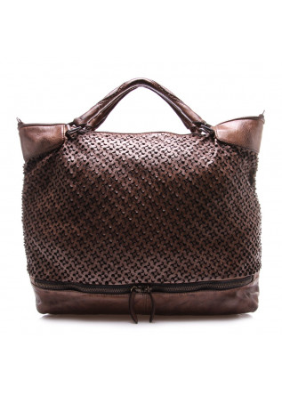 WOMEN'S BAGS BAGS BROWN REPTILE'S HOUSE