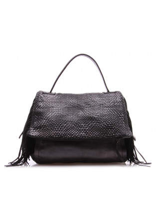 WOMEN'S BAGS BAGS BLACK REPTILE'S HOUSE