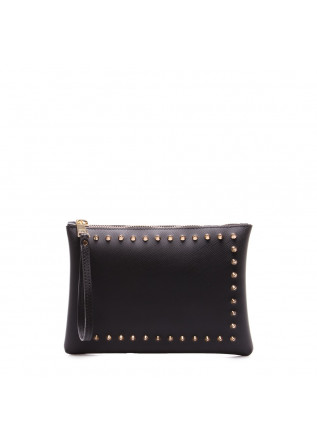 WOMEN'S BAGS CLUTCHES BLACK GUM CHIARINI