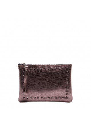 WOMEN'S BAGS CLUTCHES BRONZE GUM CHIARINI