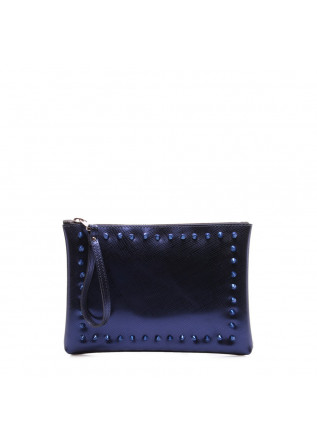 WOMEN'S BAGS CLUTCHES BLUE GUM CHIARINI