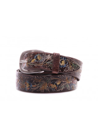 MEN'S ACESSORIES BELTS BROWN ORCIANI