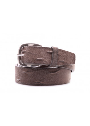 MEN'S ACESSORIES  BELTS GREY ORCIANI