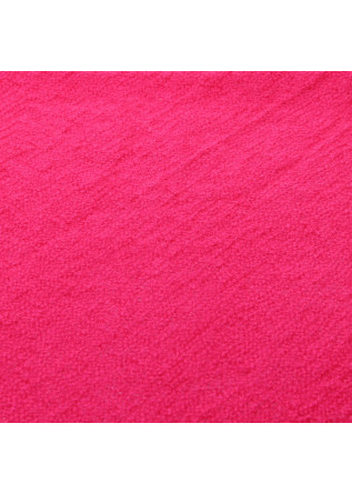 WOMEN'S ACCESSORIES SCARF WOOL FUCHSIA PINK JUCCA