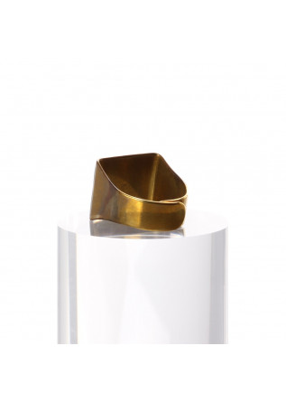 WOMEN'S ACCESSORIES RING LAQUER BLUE UNIQUE