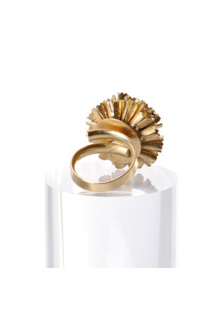 WOMEN'S ACCESSORIES RING SMALL GOLDEN FLOWER UNIQUE