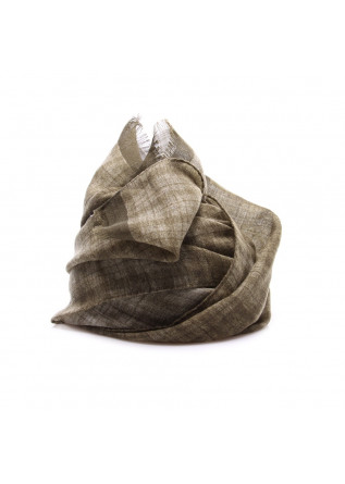 MEN'S ACCESSORIES SCARF VIRGIN WOOL OLIVE GREEN DANDY STREET