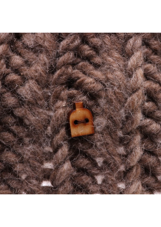 WOMEN'S ACCESSORIES HAT WOOL LIGHT BROWN MYSSY