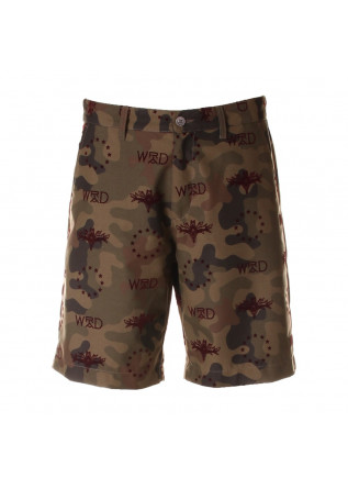 UNISEX CLOTHING SHORTS MILITARY MIMETIC GREEN WRAD