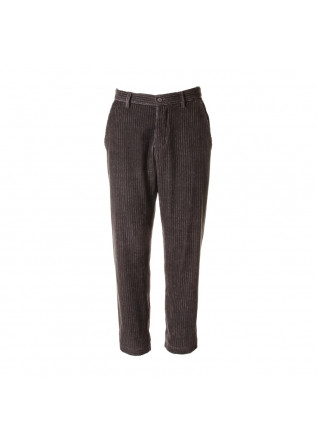 UNISEX CLOTHING TROUSERS CORDUROY ORGANIC COTTON GREY WRAD