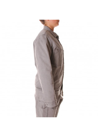 UNISEX CLOTHING JACKET ORGANIC COTTON GREY WRAD