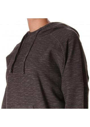 UNISEX CLOTHING SWEATSHIRT ORGANIC COTTON GREY WRAD