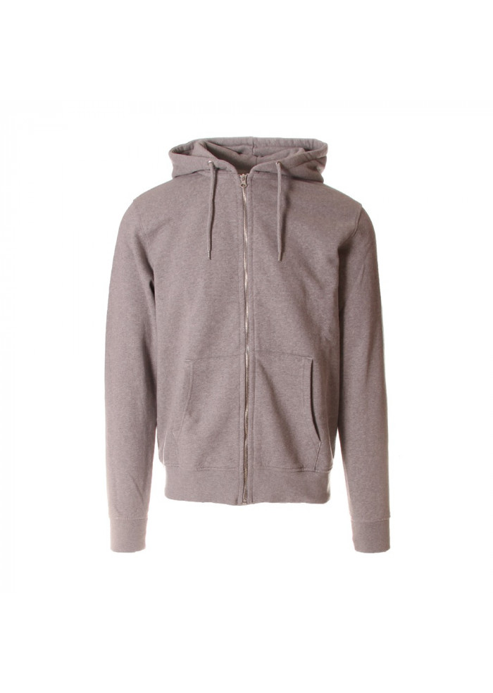 MEN'S CLOTHING SWEATSHIRT ORGANIC COTTON GREY COLORFUL STANDARD