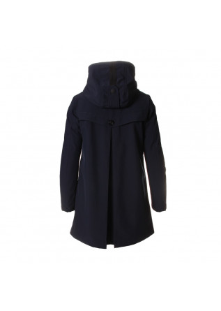 WOMEN'S CLOTHING JACKET HIGH COLLAR BLUE UP TO BE
