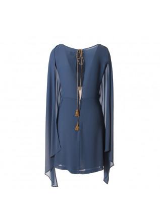 WOMEN'S CLOTHING DRESS LIGHT BLUE AVIO MERCI