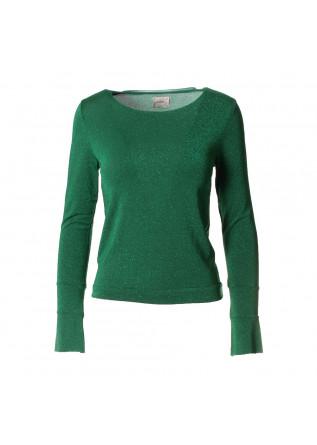 WOMEN'S CLOTHING KNITWEAR GREEN MERCI