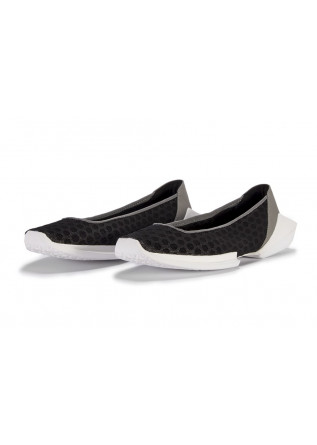 WOMEN'S SHOES FLAT SHOES BLACK GRAY SILVER WHITE BOOMY