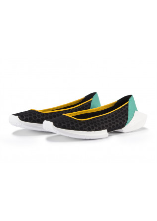 WOMEN'S SHOES FLAT SHOES BLACK EMERALD GREEN YELLOW BOOMY