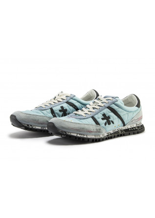 MEN'S SHOES SNEAKERS LIGHT BLUE / GRAY / BLACK PREMIATA