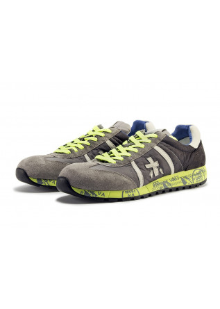 MEN'S SHOES SNEAKERS GREY PREMIATA