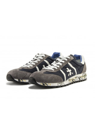 MEN'S SHOES SNEAKERS BLUE PREMIATA