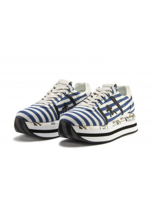 WOMEN'S SHOES SNEAKERS BLUE / WHITE / BLACK PREMIATA