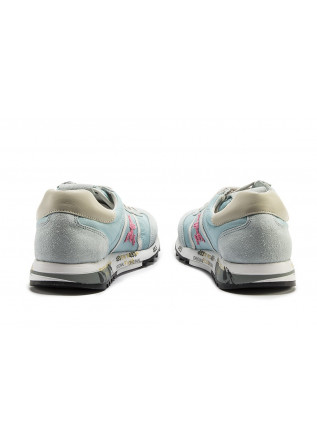 WOMEN'S SHOES SNEAKERS LIGHT BLUE / LIGHT GRAY / FUCHSIA PREMIATA
