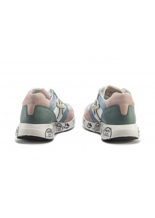 WOMEN'S SHOES SNEAKERS LIGHT BLUE / WHITE / POWDER PINK  / GREEN PREMIATA