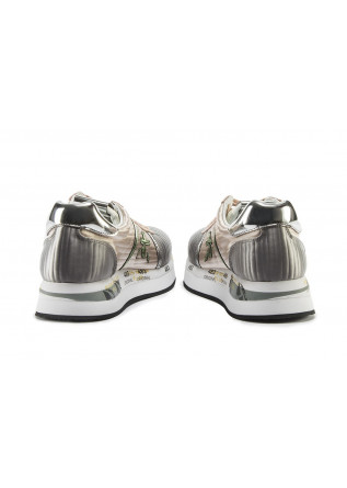 WOMEN'S SHOES SNEAKERS PINK / SILVER / WHITE / METALLIC GREEN PREMIATA