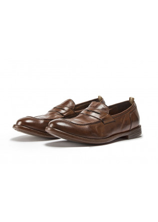 MEN'S SHOES FLAT SHOES BROWN OFFICINE CREATIVE
