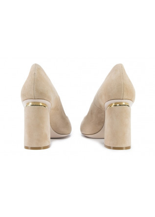 WOMEN'S SHOES DECOLLETE PUMPS BEIGE / CAMEL TIFFI