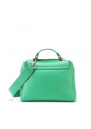 WOMEN'S BAGS HANDBAG LEATHER EMERALD GREEN ORCIANI