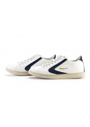 MEN'S SHOES SNEAKERS HANDMADE WHITE / DARK BLUE  VALSPORT