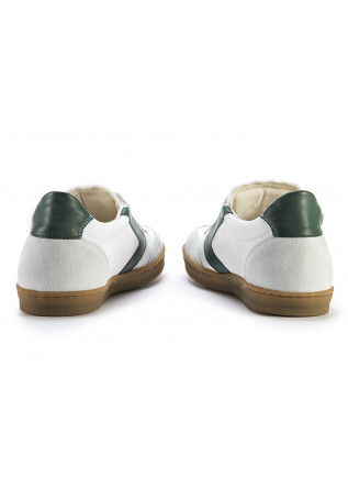 MEN'S SHOES SNEAKERS HANDMADE WHITE / FOREST GREEN / ICE WHITE VALSPORT